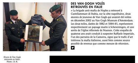 "Des Van Gogh volés retrouvés en Italie | ""L'Expert-Marchand"" | Scoop.it"