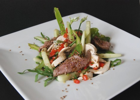 Recette: Salade de Boeuf | Yummy's kitchen | Scoop.it