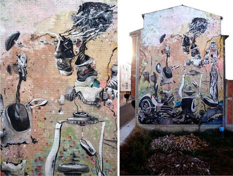 Laguna, Spain - unurth | street art | World of Street & Outdoor Arts | Scoop.it
