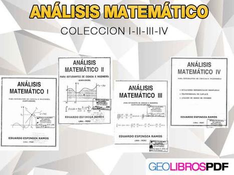 Descargar Analisis Matematico Coleccion I II III IV | Matematicas | Libros de Geologia-Minerales | Mateconectad@s | Scoop.it