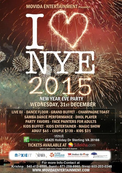 I Love NYE 2015 - Sterling, VA | Events in Sterling | VA Events | Sandhira News | Scoop.it