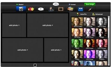 PiZap : retouche de photo en ligne et gratuit | Teurlin Marie josee | Scoop.it