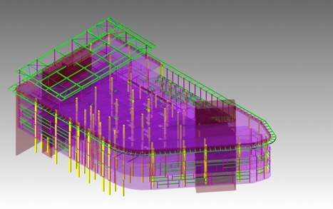 Commercial building structual steel modeling - | Architecture Building Information Modeling – BIM Services | Scoop.it