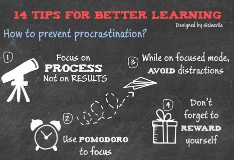 14 consejos para aprender mejor | Tutores Virtuales | Scoop.it