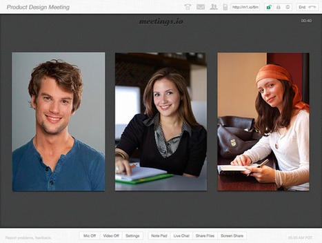 Effortless video meetings at meetings.io | Moodle and Web 2.0 | Scoop.it