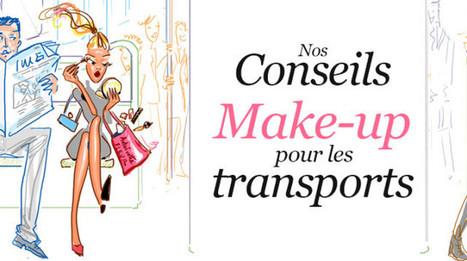 Nos conseils make-up pour les transports | Beauté | Scoop.it