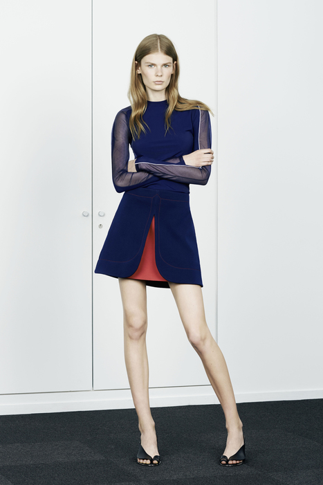 LOOK 7 - RESORT SPRING 2015 | PACO RABANNE | Fashion Zone | Scoop.it