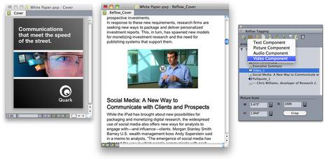 QuarkXPress 9.2 : créer un EPUB ou EPUB3 | Gestion de contenus, GED, workflows, ECM | Scoop.it