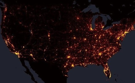 Mapping Every Single U.S. Road Fatality From 2004 to 2013 | Amazing Science | Scoop.it
