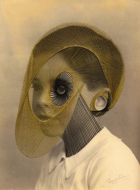 OMY BLOG - Les portraits brodés de Maurizio Anzeri | Regards contemporains | Scoop.it