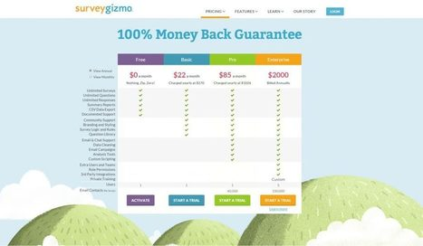 Pricing Page Optimisation: How to Order Pricing Plans [Original Research]   Online Marketing Resources   Scoop.it