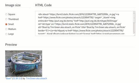 Insertar fotos de flickr y citarlas correctamente | Recursos educativos Creative Commons | Scoop.it