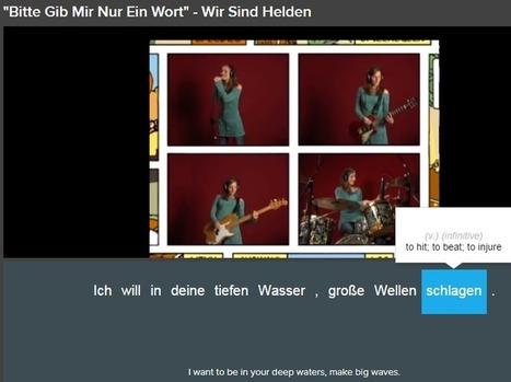 Learn German with Music: 10 Songs with Hidden German Grammar Lessons | german | Scoop.it