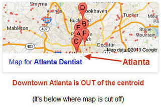 Google+ Local Centroid - NOT City Center! Affects Ranking! | The Future of Content | Scoop.it