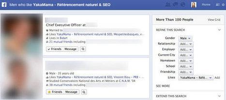 Facebook: 5 Utilisations du Graph Search pour votre Entreprise | Emarketinglicious | marques & social media | Scoop.it