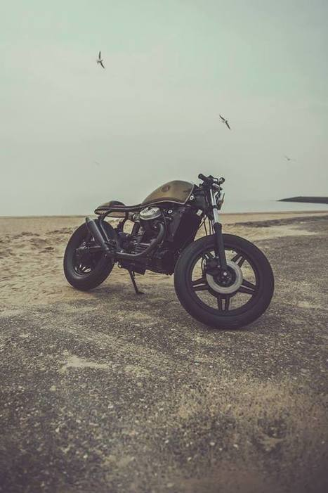 Nic's Everything About Nothing • thygeek: Honda CX500 Cafe Racer This is what... | vintage motos | Scoop.it