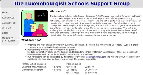 "The Luxembourgish Schools Support Group (or ""LSSG"") 