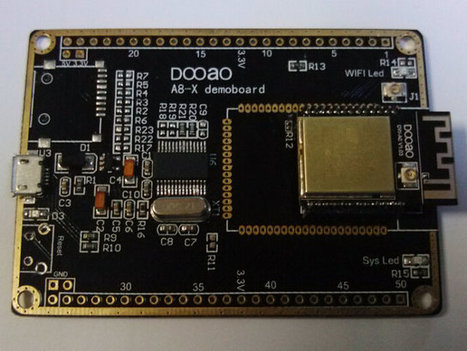DWA8 ESP8266 Wi-Fi Module Features a 10-bit ADC, Up to 8 GPIOs, 4 PWM Outputs, and More (Crowdfunding) | Embedded Systems News | Scoop.it