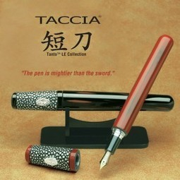 FPGeeks | Taccia Tanto Limited Edition Fountain Pen | Writing instruments | Scoop.it