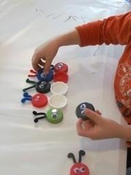 DIY Bugs on the sticky table | Teach Preschool | Scoop.it
