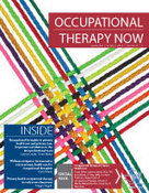 CAOT - Canadian Association of Occupational Therapists -September 2013 OTNow | Ergotherapie | Scoop.it