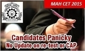MAH CET 2015 Result: Candidates Panicky; DTE Mum, Unable to announce re-test or CAP dates | MBA Universe | Scoop.it