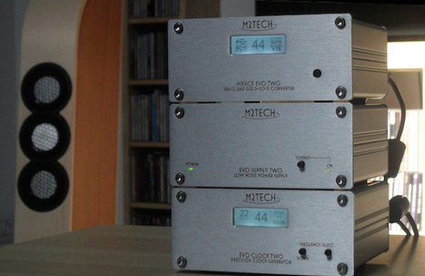 M2Tech Evo Two : une gamme évolutive, abordable, qui monte au sommet de l'art audionumérique | M2Tech | Scoop.it