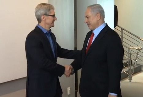 Video of Tim Cook's meeting with Israeli PM offers brief look inside Apple HQ | Apple News - From competitors to owners | Scoop.it
