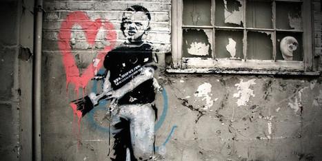 Une œuvre d'art urbain de Banksy s'installe à Amsterdam | Street Art | Scoop.it