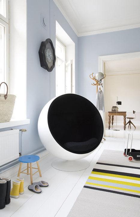 Eero Aarnio Ball Chair Giveaway from Finnish Design Shop   Design Milk   Finland   Scoop.it