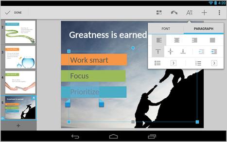 Office programi za Vaš tablet i smartphone - Učionica | Tablice v izobraževanju | Scoop.it