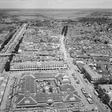 vintage everyday: Saigon, Vietnam Aerial View in 1955 | Australia_In the Vietnam Era | Scoop.it