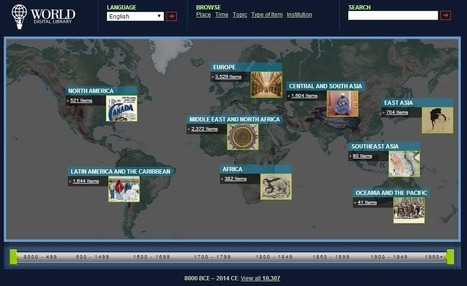 Find Primary Sources from All Over the World on the World Digital Library | SMUSD Share | Scoop.it