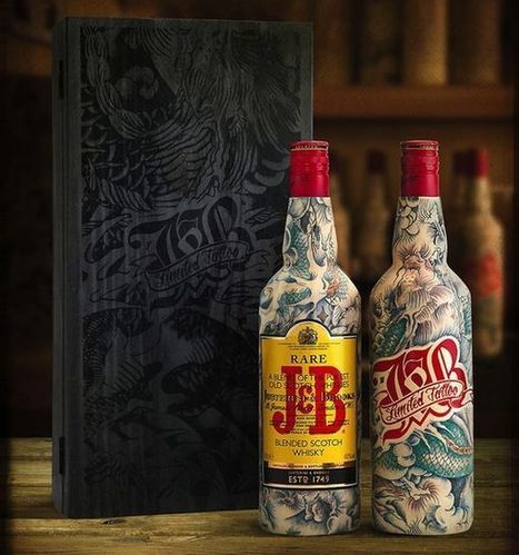 Vintage Tattooed Scotch Packaging | Our Shout | Scoop.it