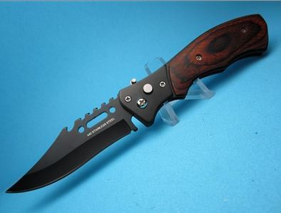 Rosewood Ripper Tactical EDC Switchblade Knife | Protech Knives - Italian Stilleto Switchblade | Scoop.it