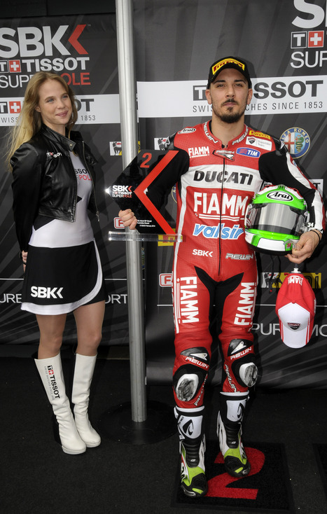 Front row start for Giugliano and the Ducati Superbike Team | Ductalk Ducati News | Scoop.it
