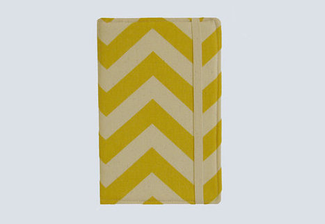 Kindle Cover Hardcover, Kindle Case, eReader, Kobo, Nook, Nexus 7, Kindle Fire HDX, Kindle Paperwhite, Nook GlowLight Chevron Yellow | Kindle Fire HDX Case | Scoop.it