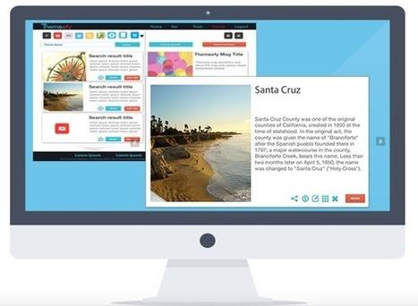 Logiciel Web 2.0 Gratuit Themeefy 2013 Licence gratuite Creation Leçons et tutoriels en ligne | pas mal, à voir ! | Scoop.it