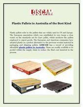 Plastic Pallets in Australia of the Best Kind   Loscam   Scoop.it