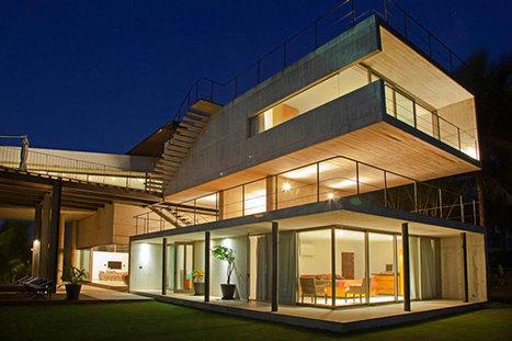 paul cremoux studio designs the casa caracola on the seashore | creativity & technology | Scoop.it