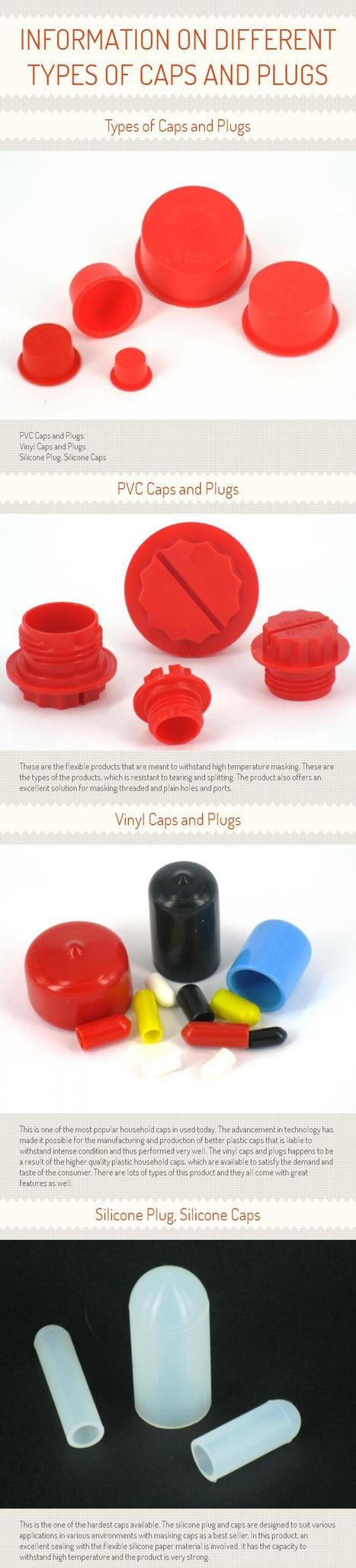 Information on Different Types of Caps and Plugs [INFOGRAPH] | Plugs & Caps | Scoop.it