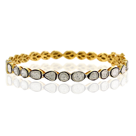 Diamond Gold Bangle | Diamond Jewelry | GemcoDesigns | Pave Diamond Bangle | Diamond Jewelry | GemcoDesigns | Scoop.it