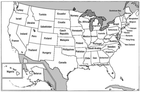 US States Renamed For Countries With Similar GDPs ... - Maps on the Web   Geography   Scoop.it