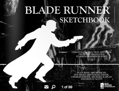 The Blade Runner Sketchbook Features The Original Art of Syd Mead & Ridley Scott (1982) | Archivance - Miscellanées | Scoop.it