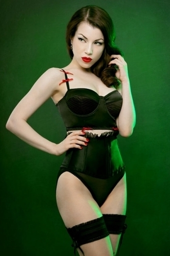 Eliza Cincher Brief by Kiss Me Deadly in Knickers and Thongs | VIM | Scoop.it