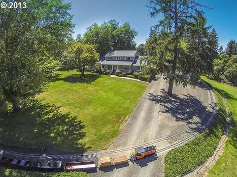 House for sale, complete with rideable scale railroad and trainyard | Heron | Scoop.it
