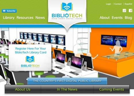 BiblioTech - Bexar County Digital Library | Technology Education | Scoop.it