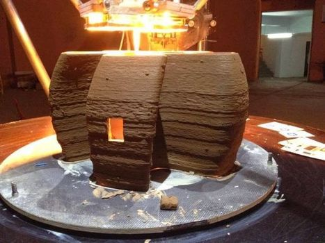 3D printing used to make mud huts in impoverished areas | Peer2Politics | Scoop.it
