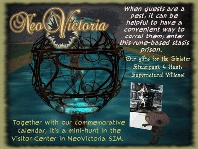 NeoVictoria is doing the Sinister Steampunk Hunt 4: Supernatural Steampunk Villains | The NeoVictoria Project | Scoop.it