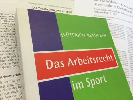 Sportrecht Marius Breucker | Marius Breucker Blog | Dr. Marius Breucker | Scoop.it
